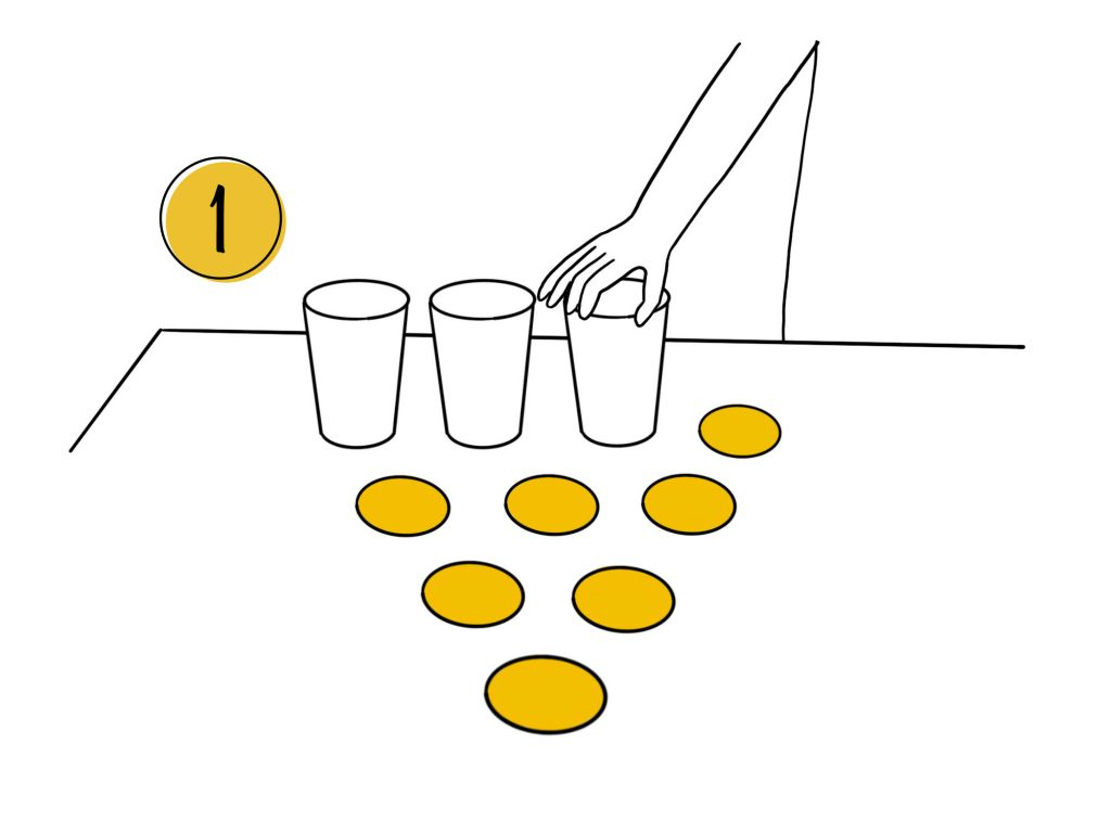 Posiziona i bicchieri - Beer Pong Home Edition Mi Games