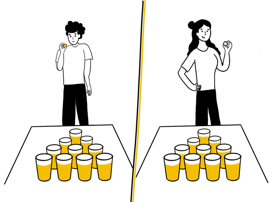 Gioca a MI GAMES Beer Pong - Home Edition